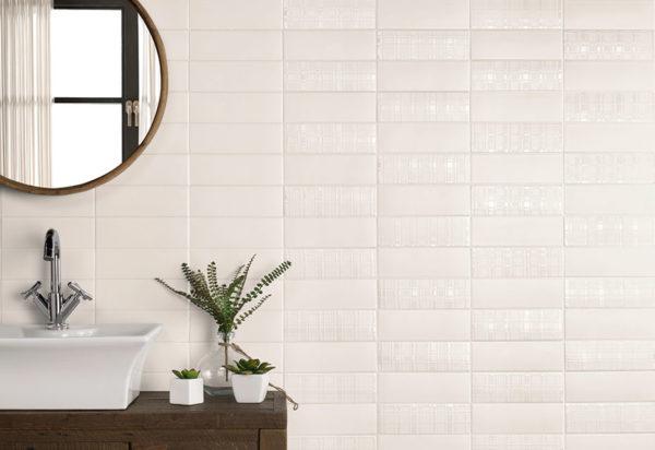 London Wall Tile White 7,2x22,2cm